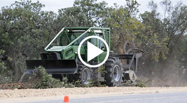 E-Mulch tractor video